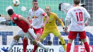 Байерн Мюнхен изнесе урок на РБ Лайпциг и вдигна Купата на Германия
