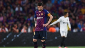 Барселона 0:2 Валенсия