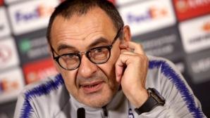 Ювентус обявява Сари за треньор след финала в Лига Европа
