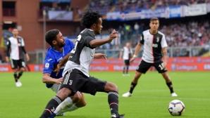Сампдория - Ювентус 2:0 в последния мач на Алегри