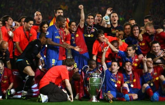 10 години от историческия първи требъл на Барселона