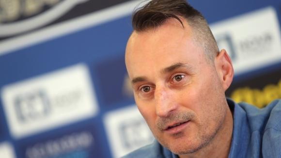 Георги Донков: Горд и щастлив съм да работя в моя роден клуб
