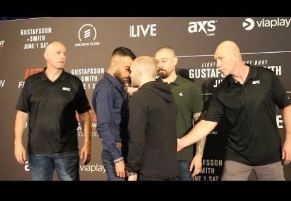 Амирхани и Фишголд се сдърпаха преди UFC Стокхолм (видео)