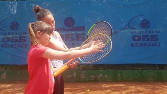 Страхотни тенис емоции за детския празник на Националния тенис център