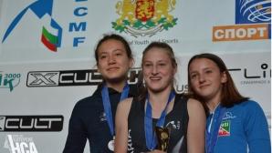 Александра Тоткова спечели Европейската купа по спортно катерене