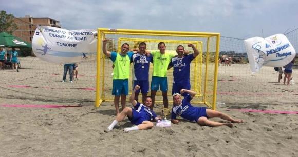 Спартак и Ники спорт са шампионите по плажен хандбал на България