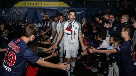 Официално: Буфон напуска ПСЖ след едва един сезон в тима
