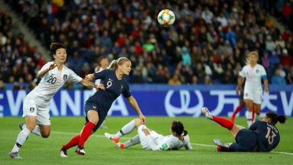 Франция разби Корея в мача на откриването на Мондиал 2019