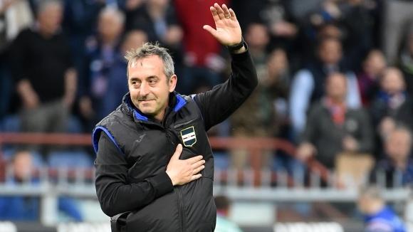 Джампаоло разтрогва със Сампдория утре, Милан го обявява до вторник