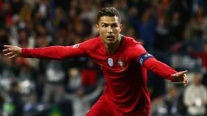 Геният Роналдо изстреля Португалия на финал в Лигата на нациите (видео + галерия)