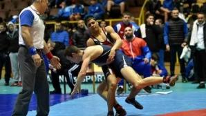 Иво Илиев остана пети на европейското първенство по борба за юноши
