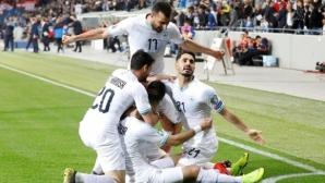 Хеттрик на Захави донесе успех на Израел срещу Латвия на Славиша Стоянович