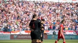 Хърватия оглави своята група след победа над Уелс (видео)
