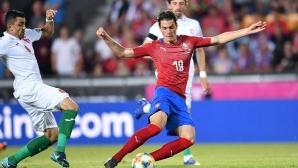 Двата гола в мрежата на България вдигнаха акциите на Патрик Шик