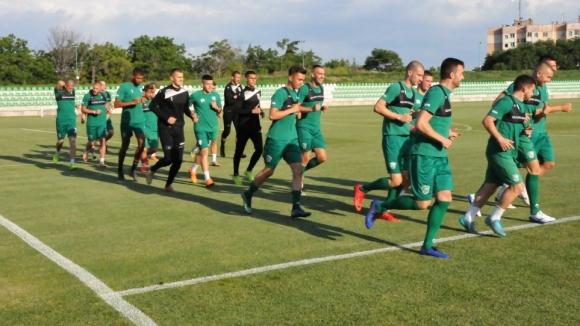 Камен Хаджиев тренира с Берое
