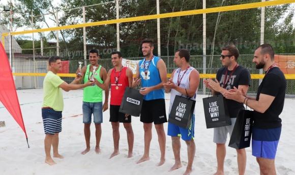Българо-италиански отбор спечели турнир от Beach Volley Mania