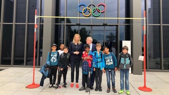 Стефка Костадинова се срещна с президента на МОК заради кандидатурата ни за младежки олимпийски зимни игри
