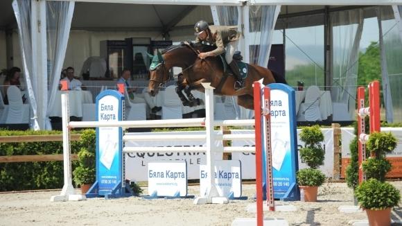 И вторият ден беше успешен за България на Световната купа по конен спорт в Божурище