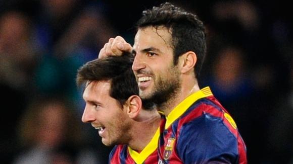 Фабрегас: Меси е по-завършен играч от преди