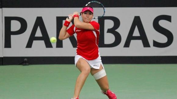 Костова отстъпи на финала в Чехия