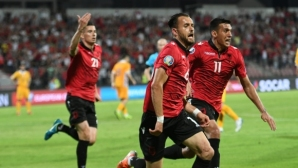 Албания се справи с Молдова и остава в играта