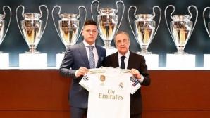 Първите думи на Йович като играч на Реал Мадрид