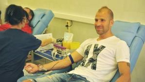 Представители на ЦСКА-София ще дарят кръв