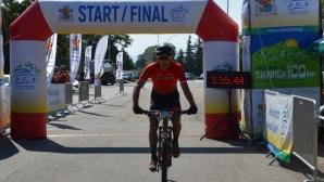 За първи път обиколиха Витоша под 4 часа с колело