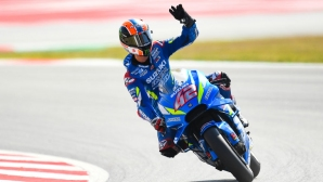 Ринс оглави третата тренировка от MotoGP в Барселона, Лоренсо ядоса Маркес