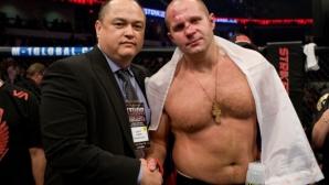 Фьодор Емеляненко подписа нов договор с Bellator MMA