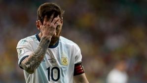 Първите думи на Меси след кошмарното начало на Аржентина