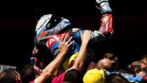 Братът на Маркес с трета поредна победа в Moto2
