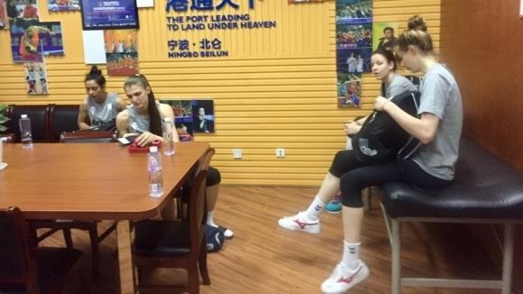 Добри новини за волейболистките в Китай
