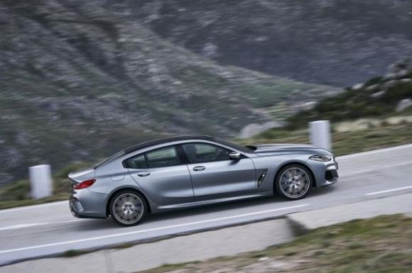 Предпремиерата на BMW Серия 8 Гран Купе (снимки)