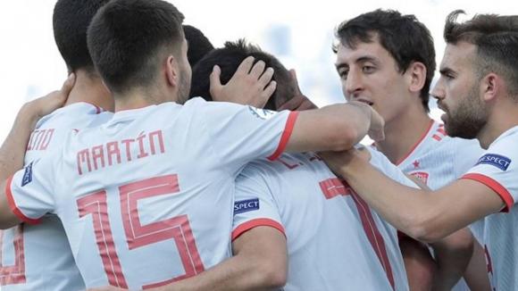 Испания изстрада първата си победа на Евро 2021 до 21 години