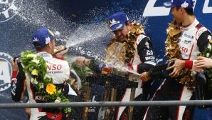 """Алонсо: Късметът бе голям фактор за победата на """"Льо Ман"""""""