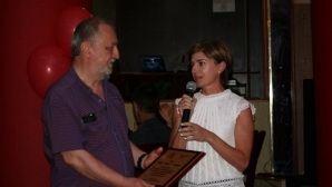 Дафовска уважи юбилей на клуба на Владо Илиев