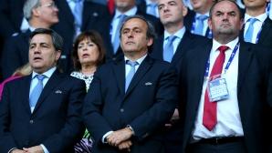 Мишел Платини с официално изявление