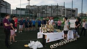 Министър Кралев и кметът Портних наградиха участниците в АМФЛ Варна