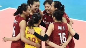 Олимпийските шампионки от Китай разгромиха Германия (видео + снимки)