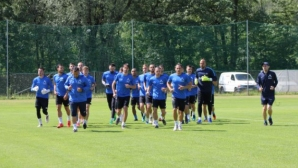 Левски проведе първа тренировка в Австрия