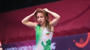 Диана Павлова със сребро на Европейското по борба за кадети в Италия