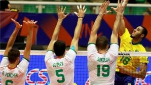 Борбена България взе само гейм на Бразилия (видео + галерия)