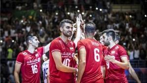 Иран се класира за финалите в Лигата след разгром над Австралия (видео + снимки)