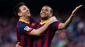 И Алвеш се връща в Барселона?