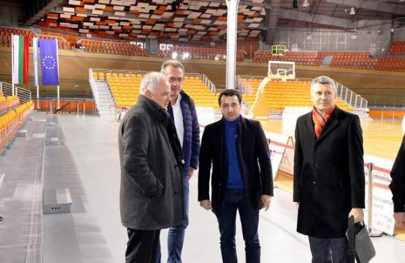 Пресконференция на Иван Тотев, Данчо Лазаров и звезди от националния отбор преди мачовете в Пловдив