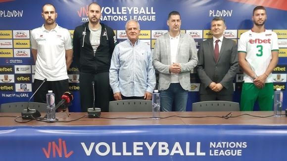 Кметът на Пловдив Иван Тотев призова феновете да подкрепят волейболните национали (видео)