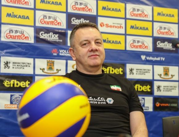 Игор Колакович: Иран ще гони в Пловдив класиране за финалната шестица