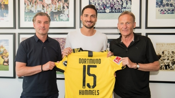 Дортмунд приветства Хумелс обратно