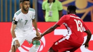 Алжир с перфектно начало срещу Кения